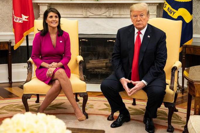 Đại sứ Mỹ tại Liên Hiệp Quốc đột ngột từ chức - Ảnh 1.