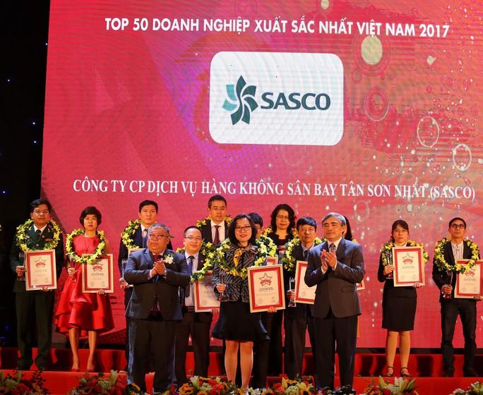SASCO 2 năm liên tiếp thuộc 50 doanh nghiệp xuất sắc nhất - Ảnh 1.