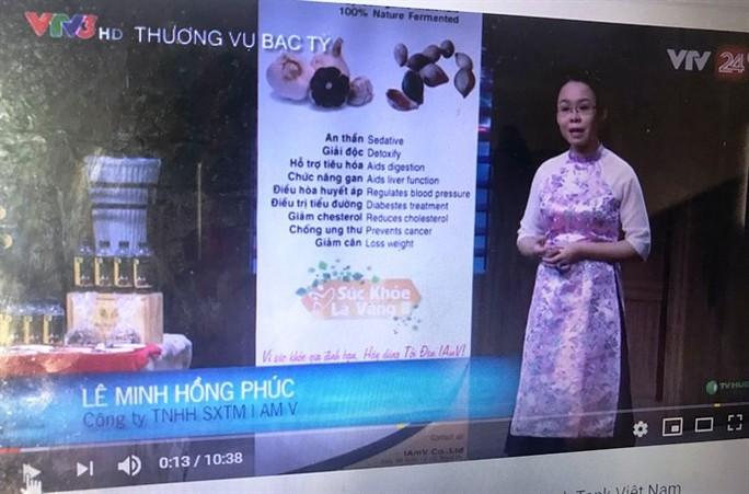 Một doanh nghiệp bị yêu cầu đính chính vì nổ về tỏi Lý Sơn trên truyền hình - Ảnh 2.