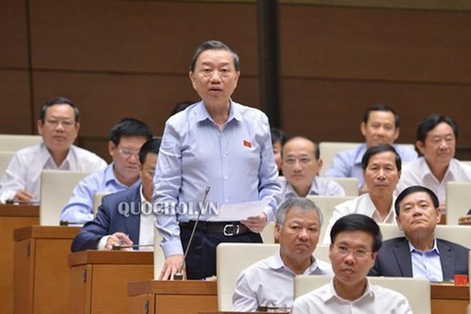 Bộ trưởng Tô Lâm: Khó khăn trong việc xử lý thông tin nặc danh trên mạng internet - Ảnh 1.