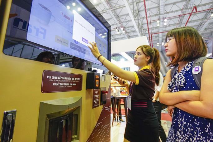 Máy bán cà phê rang xay tự động đầu tiên tại Việt Nam - Ảnh 6.