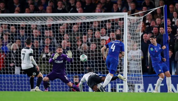Ghi 4 bàn, Derby County thua đau Chelsea ở League Cup - Ảnh 5.