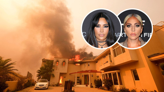 Hàng loạt ngôi sao Hollywood sơ tán khẩn cấp vì cháy rừng - Ảnh 4.