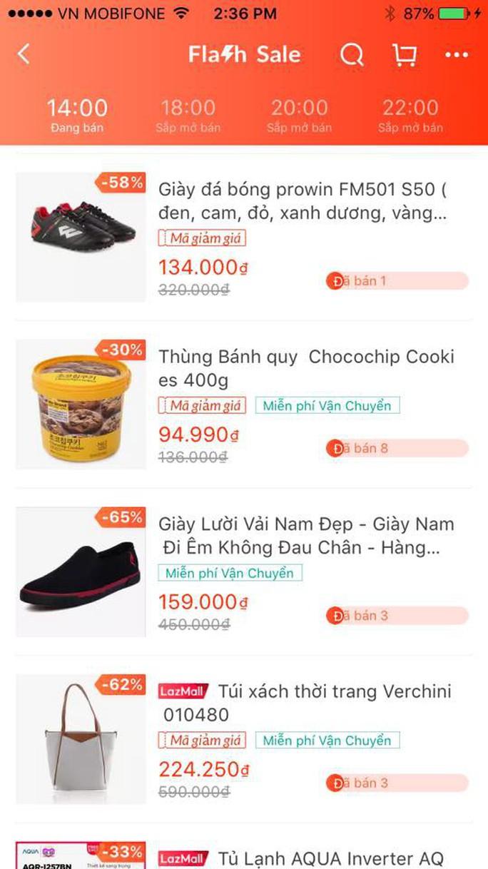 Quảng cáo Flash sale, Lazada bán bánh quy giá trên trời?! - Ảnh 3.