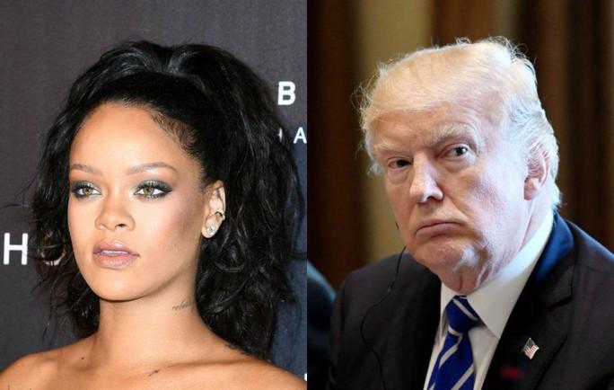 Rihanna yêu cầu Tổng thống Donald Trump không xài ca khúc của cô - Ảnh 1.