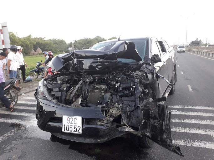 Khởi tố vụ xe Mazda BT50 tông liên hoàn ở Quảng Nam - Ảnh 5.