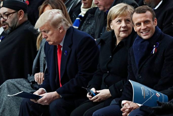 Tổng thống Pháp không nể mặt ông Trump - Ảnh 5.