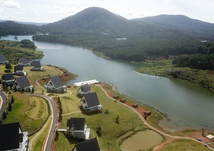 Danh thắng quốc gia hồ Tuyền Lâm tiếp tục bị xới tung - Ảnh 4.