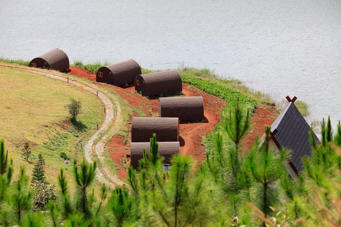 Danh thắng quốc gia hồ Tuyền Lâm tiếp tục bị xới tung - Ảnh 5.