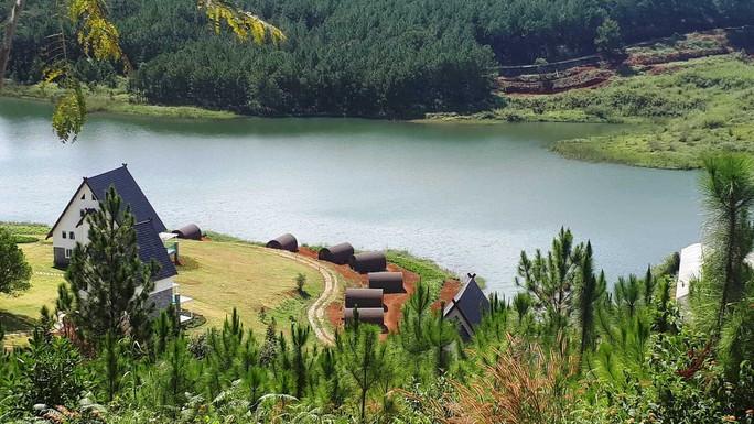 Yêu cầu xử lý doanh nghiệp băm nát hồ Tuyền Lâm - Ảnh 2.