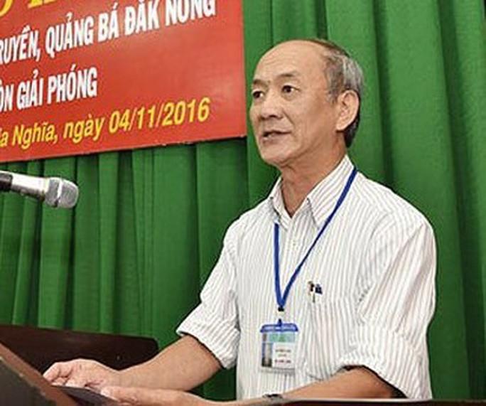Khởi tố nguyên Chánh Văn phòng Tỉnh ủy Đắk Nông - Ảnh 1.