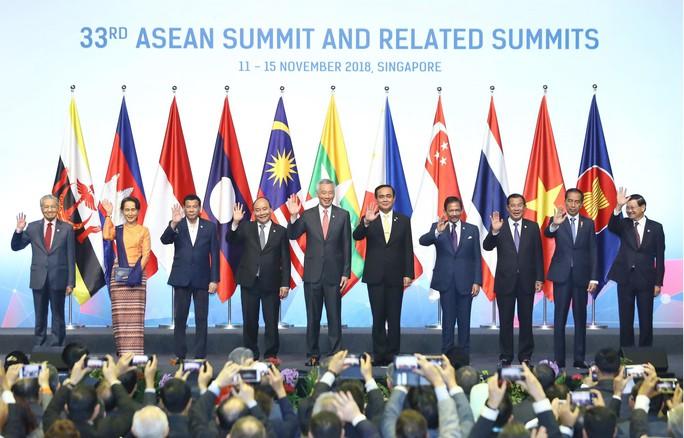 Thủ tướng Nguyễn Xuân Phúc chia sẻ sáng kiến về hợp tác ASEAN - Ảnh 1.