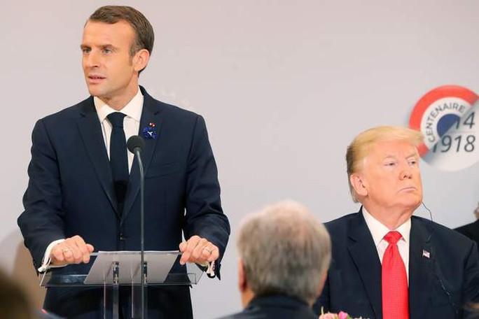 Ông Macron phản pháo ông Trump, yêu cầu tôn trọng lẫn nhau - Ảnh 1.