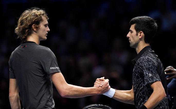 Djokovic xuất sắc vượt mặt đàn em ở ATP Finals 2018 - Ảnh 1.