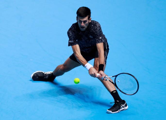 Djokovic xuất sắc vượt mặt đàn em ở ATP Finals 2018 - Ảnh 3.
