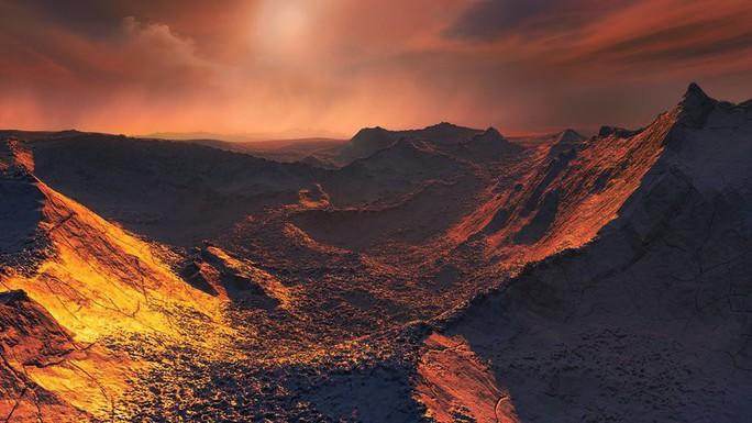 Phát hiện siêu trái đất màu cam cực gần chúng ta - Ảnh 1.