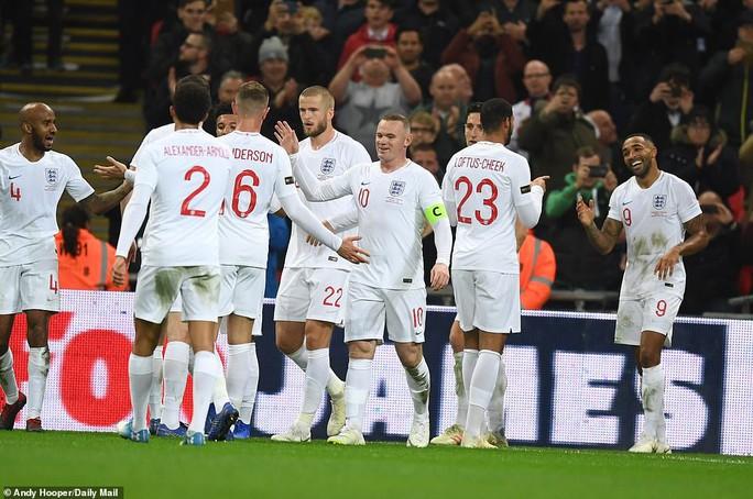 Rooney đá trận giã từ, tuyển Anh nhẹ nhàng thắng Mỹ - Ảnh 10.