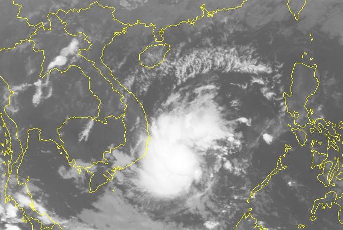 Áp thấp nhiệt đới giật cấp 8 trên Biển Đông hướng về Nam Bộ - Ảnh 2.