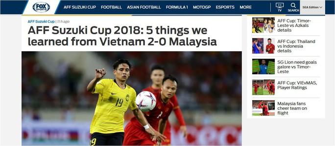 Truyền thông quốc tế chỉ ra lý do Việt Nam thắng Malaysia - Ảnh 2.