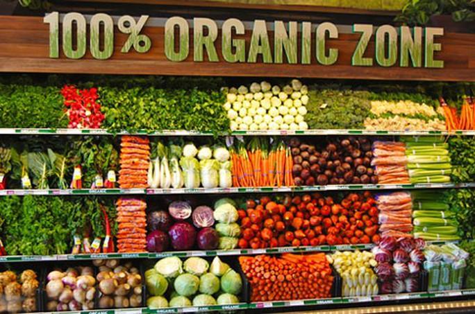 Thế giới ngày càng chuộng thực phẩm organic - Ảnh 1.