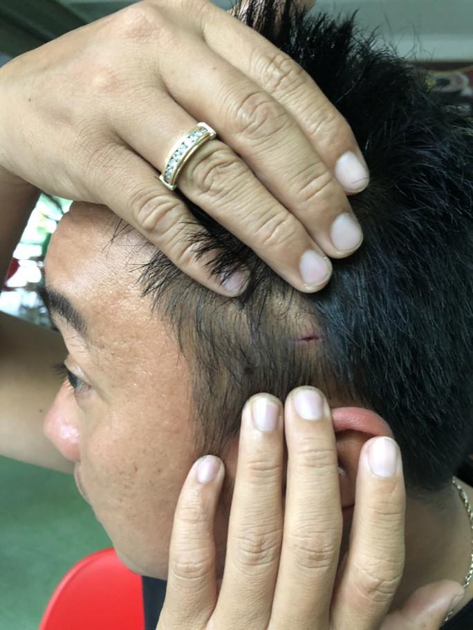 CSGT Bình Định lên tiếng về clip đánh nhau với tài xế - Ảnh 2.