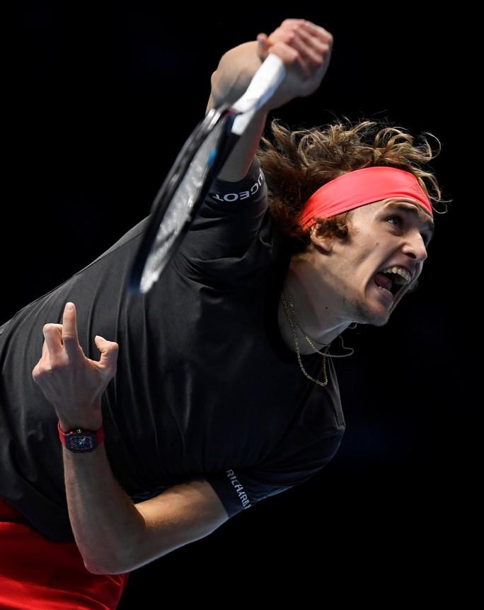 ATP Finals 2018: Federer bại trận, Djokovic rộng cửa vô địch - Ảnh 1.