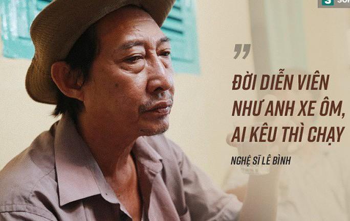 Nghệ sĩ Lê Bình cô độc chống chọi căn bệnh quái ác - Ảnh 1.