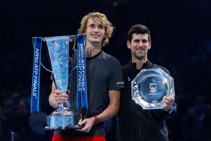 Djokovic thua sốc ở chung kết, Zverev vô địch ATP Finals 2018 - Ảnh 8.