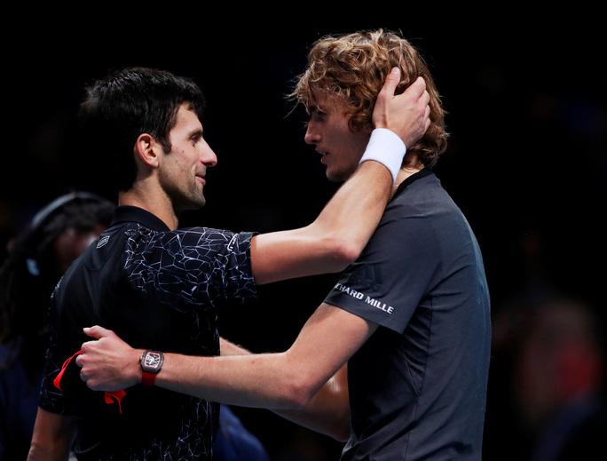 Djokovic thua sốc ở chung kết, Zverev vô địch ATP Finals 2018 - Ảnh 1.