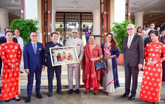 Tổng thống Ấn Độ cùng phu nhân thăm di sản thế giới Mỹ Sơn - Ảnh 16.
