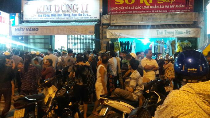 Nam thanh niên táo tợn cướp tiệm vàng ở Quảng Nam - Ảnh 3.