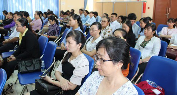 Phổ biến nghị quyết Đại hội Công đoàn Việt Nam và CĐ TP HCM đến cơ sở - Ảnh 1.