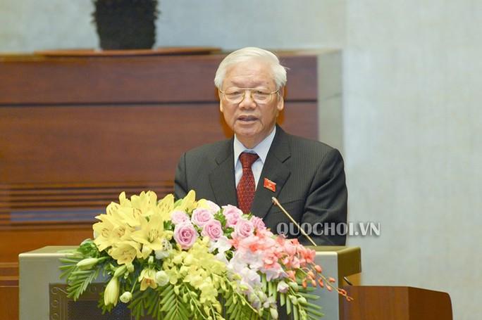 Chủ tịch nước Nguyễn Phú Trọng trình Quốc hội phê chuẩn Hiệp định CPTPP - Ảnh 1.