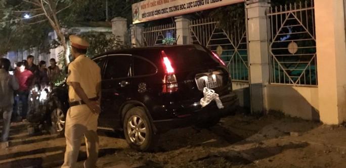 Phó trưởng Công an thị xã Đồng Xoài gây tai nạn nói gì? - Ảnh 1.
