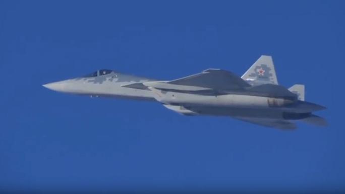 Nga tung video Su-57 bị đẩy tới giới hạn ở Syria - Ảnh 1.