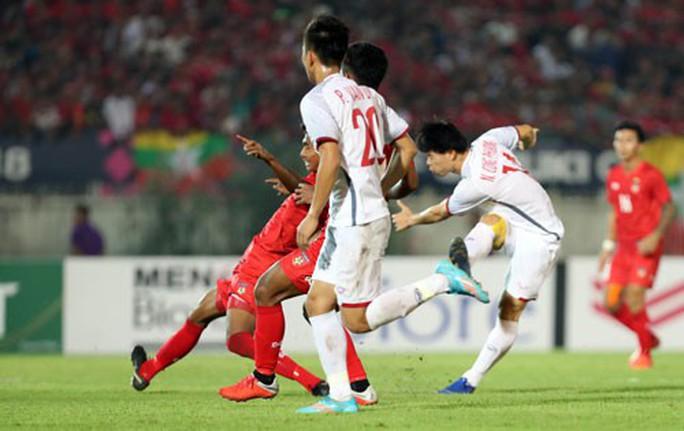 Myanmar - Việt Nam 0-0: Hòa cũng được! - Ảnh 1.