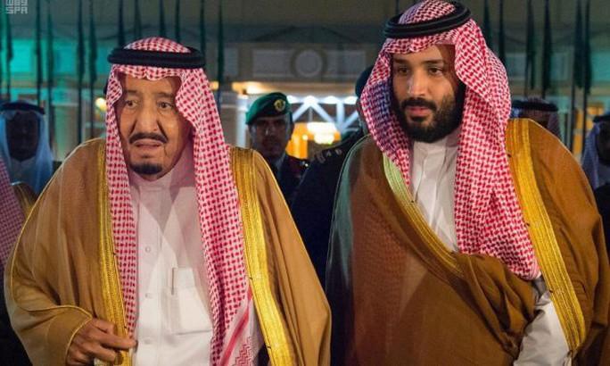 Thái tử Ả Rập Saudi có nguy cơ hụt ngai vàng - Ảnh 1.