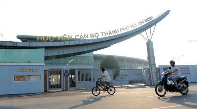 Hủy kết quả, đấu thầu lại gói thầu của công trình xây dựng Học viện Cán bộ TP HCM - Ảnh 1.