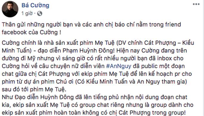 Phim Mẹ Tuệ khốn đốn vì Kiều Minh Tuấn - Cát Phượng - An Nguy - Ảnh 1.