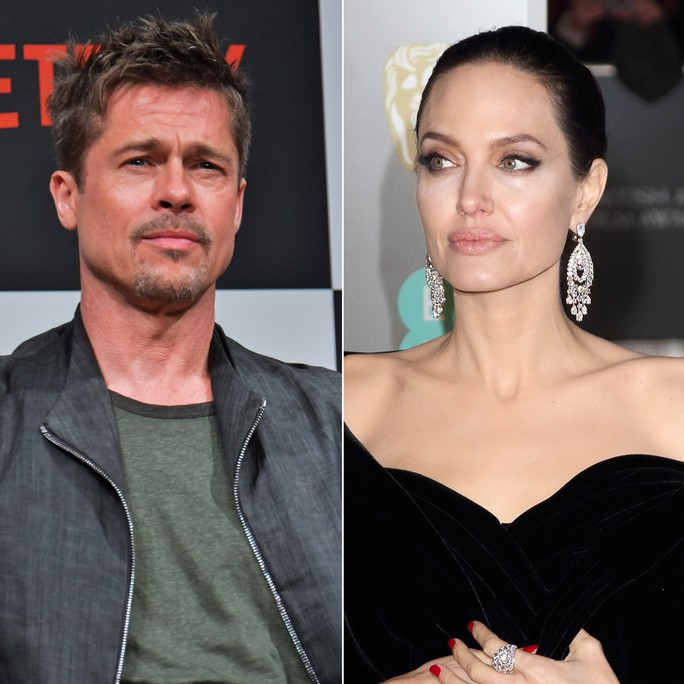 Brad Pitt xin Angelina Jolie bàn quyền nuôi con ngoài tòa - Ảnh 1.