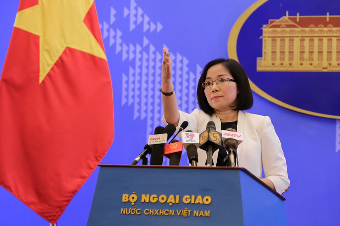 Phản đối Trung Quốc xây cấu trúc mới tại vị trí chiến lược ở quần đảo Hoàng Sa - Ảnh 2.