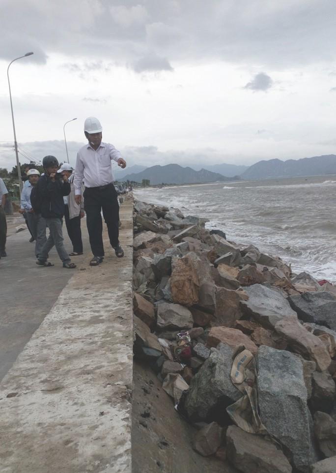 Ninh Thuận tất bật ứng phó với bão số 9 - Ảnh 4.