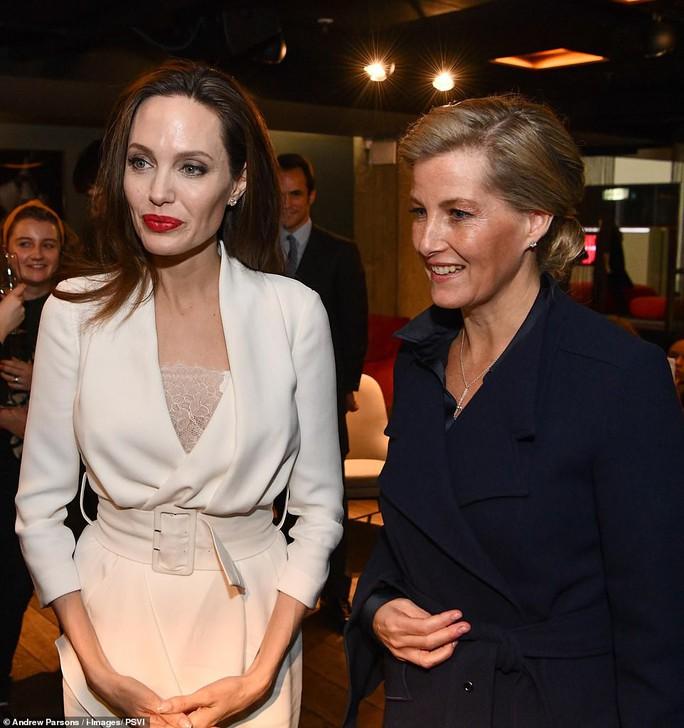 Angelina Jolie rạng ngời chống kỳ thị nạn nhân bạo lực tình dục - Ảnh 3.