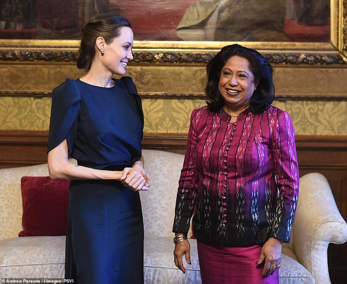 Angelina Jolie rạng ngời chống kỳ thị nạn nhân bạo lực tình dục - Ảnh 7.