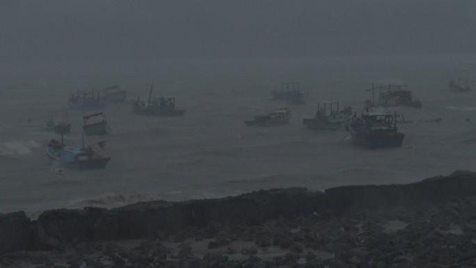 Bão số 9 đã vào Bà Rịa - Vũng Tàu, mưa rất to, cây ngã đổ, tàu chìm - Ảnh 5.