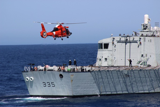 Canada tăng tuần tra hiện diện ở biển Đông - Ảnh 1.