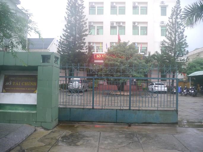 Phó phòng Sở Tài chính tỉnh Bình Định chết treo cổ tại cơ quan - Ảnh 1.