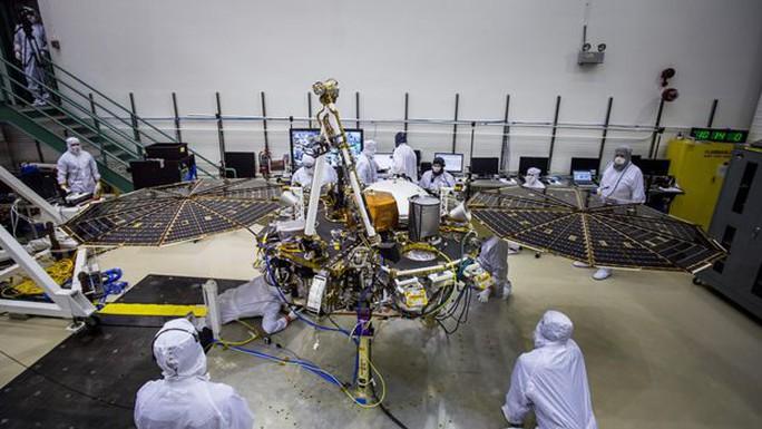 """""""7 phút tử thần"""" của tàu NASA sắp đổ bộ sao Hỏa - Ảnh 2."""
