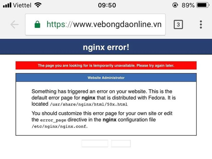 Hệ thống bán vé online trận Việt Nam - Philippines sập toàn tập sau vài phút mở bán - Ảnh 3.