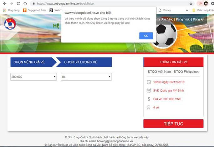 Tổng thư ký VFF lên nói về được và chưa được bán vé online trận Việt Nam - Philippines - Ảnh 2.